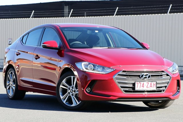 Used Hyundai Elantra AD MY18 Elite, 2018 Hyundai Elantra AD MY18 Elite Red 6 Speed Sports Automatic Sedan