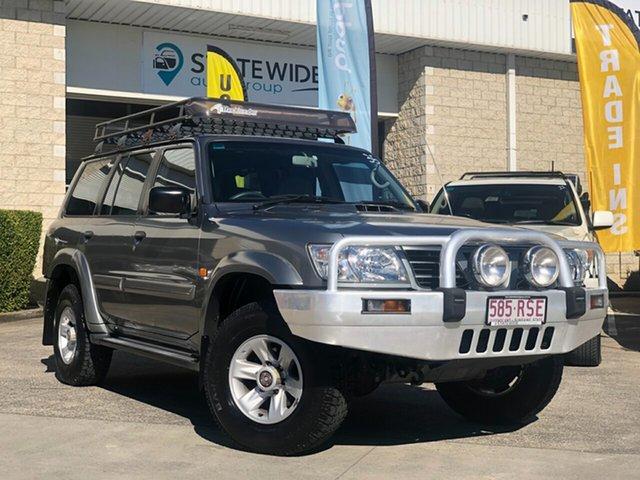 Used Nissan Patrol GU III MY2003 ST-L, 2003 Nissan Patrol GU III MY2003 ST-L Silver 5 Speed Manual Wagon
