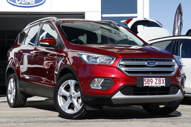 Demo Ford Escape ZG 2018.75MY Trend 2WD, 2018 Ford Escape ZG 2018.75MY Trend 2WD Ruby Red 6 Speed Sports Automatic Wagon