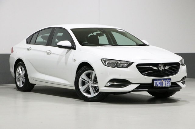 Used Holden Commodore ZB LT, 2018 Holden Commodore ZB LT White 8 Speed Automatic Liftback