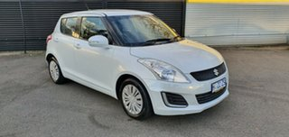 2015 Suzuki Swift FZ MY15 GL White 4 Speed Automatic Hatchback