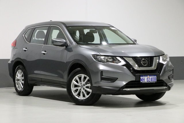 Used Nissan X-Trail T32 Series 2 ST (2WD), 2019 Nissan X-Trail T32 Series 2 ST (2WD) Gun Metallic Continuous Variable Wagon