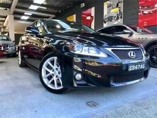 2011 Lexus IS350 GSE21R Prestige Black 6 Speed Sports Automatic Sedan.