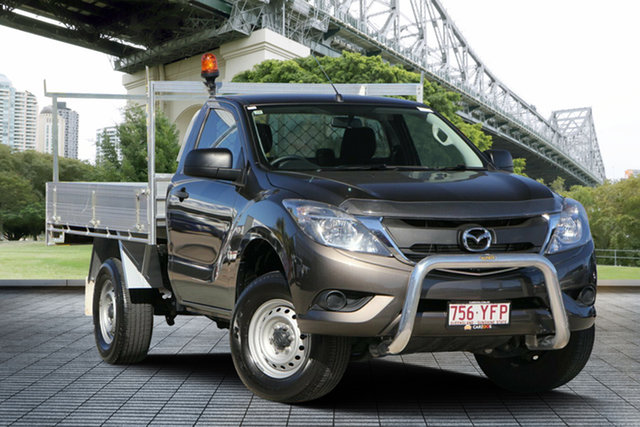 Used Mazda BT-50 UR0YG1 XT Freestyle 4x2 Hi-Rider, 2017 Mazda BT-50 UR0YG1 XT Freestyle 4x2 Hi-Rider Bronze 6 Speed Sports Automatic Cab Chassis