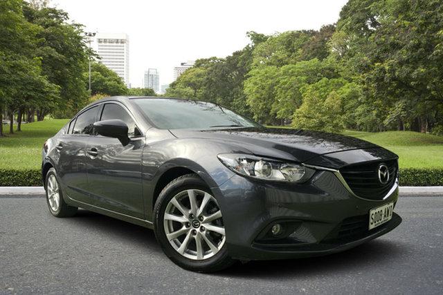 Used Mazda 6 GJ1031 Touring SKYACTIV-Drive, 2013 Mazda 6 GJ1031 Touring SKYACTIV-Drive Meteor Grey 6 Speed Sports Automatic Sedan