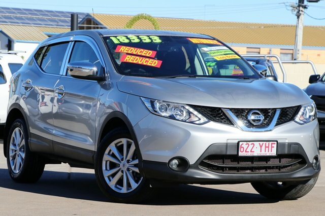 Used Nissan Qashqai J11 TS, 2014 Nissan Qashqai J11 TS Silver 1 Speed Constant Variable Wagon