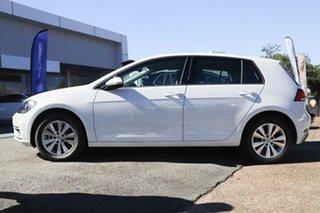 2018 Volkswagen Golf 7.5 MY18 110TSI DSG Trendline Pure White 7 Speed Sports Automatic Dual Clutch