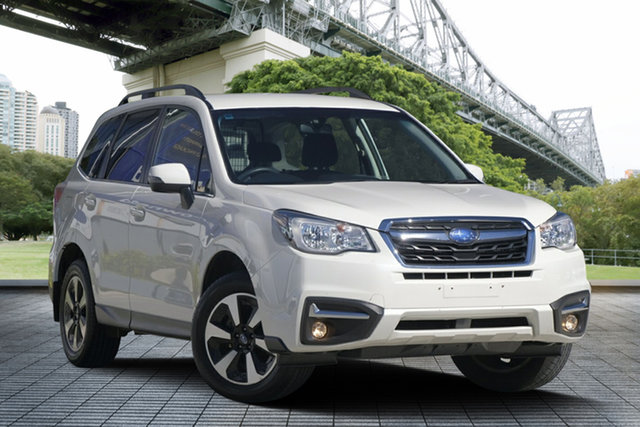 Used Subaru Forester S4 MY17 2.5i-L CVT AWD, 2016 Subaru Forester S4 MY17 2.5i-L CVT AWD White 6 Speed Constant Variable Wagon