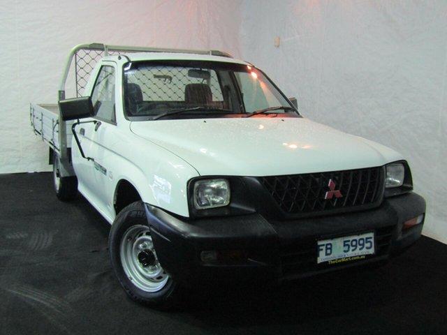 Used Mitsubishi Triton MK MY04 GLX Club Cab 4x2, 2004 Mitsubishi Triton MK MY04 GLX Club Cab 4x2 White 5 Speed Manual Utility