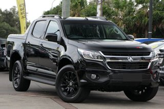 2018 Holden Colorado RG MY19 Z71 Pickup Crew Cab Mineral Black 6 Speed Sports Automatic Utility.