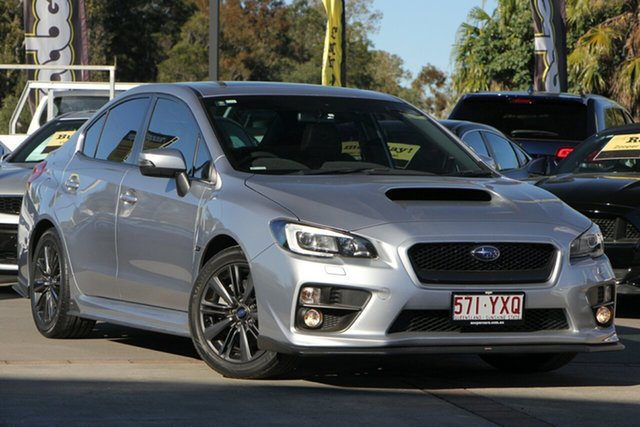 Used Subaru WRX V1 MY15 Premium Lineartronic AWD, 2015 Subaru WRX V1 MY15 Premium Lineartronic AWD Silver 8 Speed Constant Variable Sedan