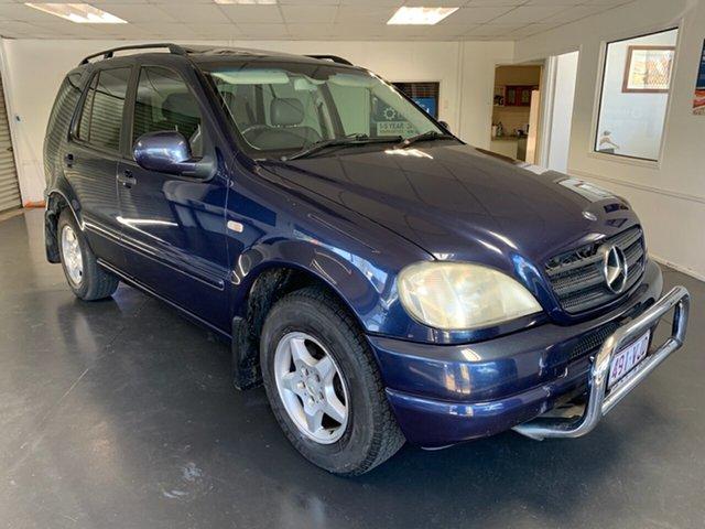Used Mercedes-Benz ML320 W163 Luxury (4x4), 2001 Mercedes-Benz ML320 W163 Luxury (4x4) Blue 5 Speed Auto Tipshift Wagon