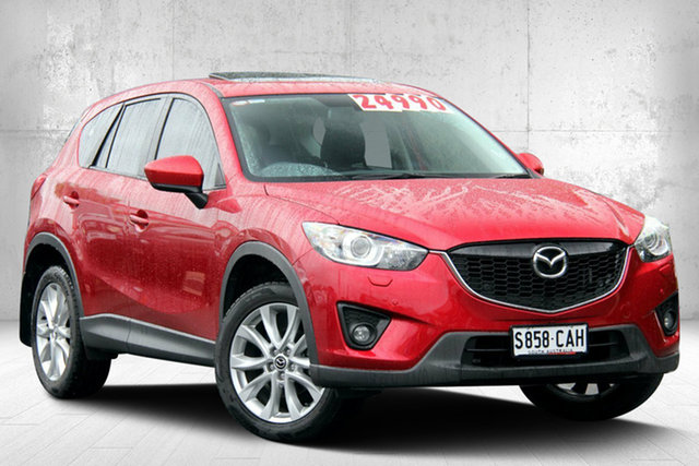 Used Mazda CX-5 KE1031 MY14 Grand Touring SKYACTIV-Drive AWD, 2013 Mazda CX-5 KE1031 MY14 Grand Touring SKYACTIV-Drive AWD Soul Red 6 Speed Sports Automatic Wagon