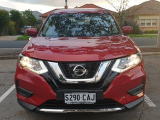 2018 Nissan X-Trail T32 Series II ST X-tronic 2WD Red/Black 7 Speed Constant Variable Wagon.