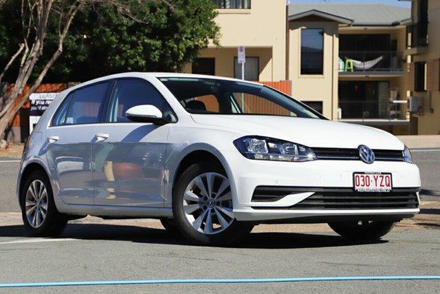 Demo Volkswagen Golf 7.5 MY18 110TSI DSG Trendline, 2018 Volkswagen Golf 7.5 MY18 110TSI DSG Trendline Pure White 7 Speed Sports Automatic Dual Clutch