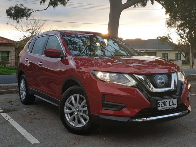 Used Nissan X-Trail T32 Series II ST X-tronic 2WD, 2018 Nissan X-Trail T32 Series II ST X-tronic 2WD Red/Black 7 Speed Constant Variable Wagon