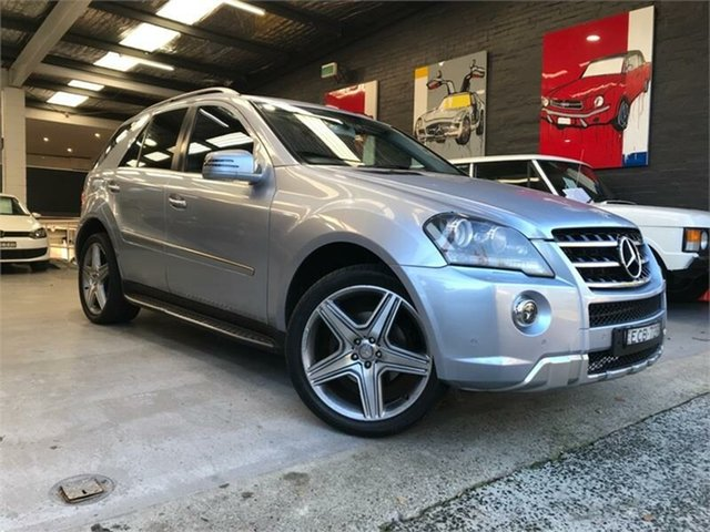 Used Mercedes-Benz ML350 W164 AMG, 2011 Mercedes-Benz ML350 W164 AMG Blue Sports Automatic Wagon