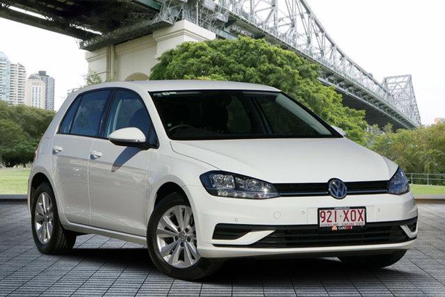 Used Volkswagen Golf 7.5 MY17 110TSI DSG Trendline, 2017 Volkswagen Golf 7.5 MY17 110TSI DSG Trendline White 7 Speed Sports Automatic Dual Clutch