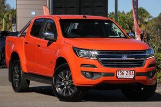 2019 Holden Colorado RG MY19 LTZ Pickup Crew Cab Orange Crush 6 Speed Sports Automatic Utility.
