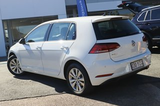 2018 Volkswagen Golf 7.5 MY18 110TSI DSG Trendline Pure White 7 Speed Sports Automatic Dual Clutch.