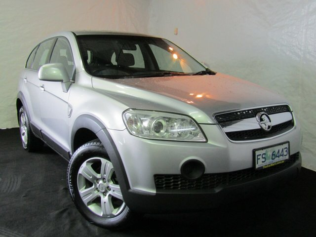 Used Holden Captiva CG SX AWD, 2007 Holden Captiva CG SX AWD Mercury Silver 5 Speed Sports Automatic Wagon