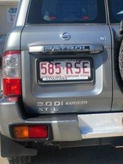 2003 Nissan Patrol GU III MY2003 ST-L Silver 5 Speed Manual Wagon