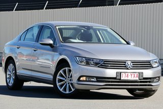 2019 Volkswagen Passat 3C (B8) MY19 132TSI DSG Comfortline Pyrite Silver 7 Speed.