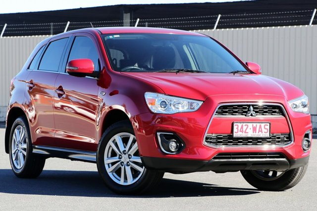 Used Mitsubishi ASX XB MY13 Aspire 2WD, 2013 Mitsubishi ASX XB MY13 Aspire 2WD Red 6 Speed Constant Variable Wagon