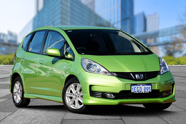 Used Honda Jazz GE MY12 VTi, 2012 Honda Jazz GE MY12 VTi Fresh Lime 5 Speed Automatic Hatchback