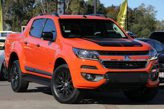 Used Holden Colorado RG MY19 Z71 Pickup Crew Cab, 2018 Holden Colorado RG MY19 Z71 Pickup Crew Cab Orange Crush 6 Speed Sports Automatic Utility