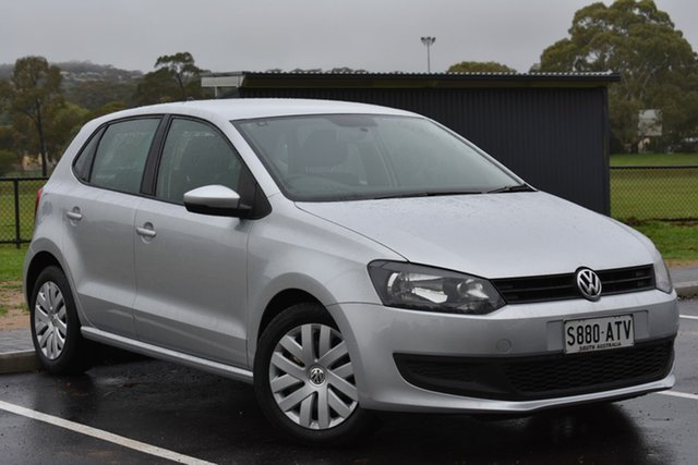Used Volkswagen Polo 6R MY12.5 Trendline, 2012 Volkswagen Polo 6R MY12.5 Trendline Silver 5 Speed Manual Hatchback