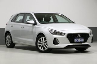 2017 Hyundai i30 PD Active Silver 6 Speed Auto Sequential Hatchback.