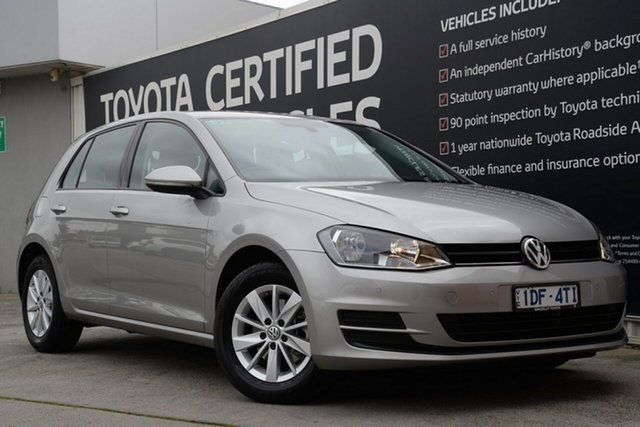Used Volkswagen Golf VII MY16 92TSI DSG Trendline, 2015 Volkswagen Golf VII MY16 92TSI DSG Trendline 7 Speed Sports Automatic Dual Clutch Hatchback