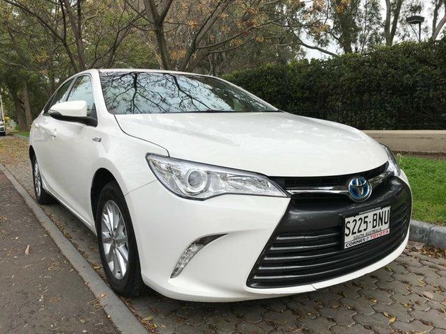 Used Toyota Camry AVV50R Altise, 2016 Toyota Camry AVV50R Altise White 1 Speed Constant Variable Sedan Hybrid