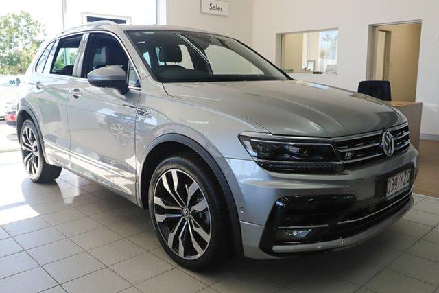 Demo Volkswagen Tiguan 5N MY19.5 162TSI DSG 4MOTION Highline, 2019 Volkswagen Tiguan 5N MY19.5 162TSI DSG 4MOTION Highline Tungsten Silver 7 Speed