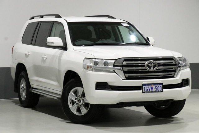 Used Toyota Landcruiser VDJ200R MY16 GXL (4x4), 2015 Toyota Landcruiser VDJ200R MY16 GXL (4x4) White 6 Speed Automatic Wagon