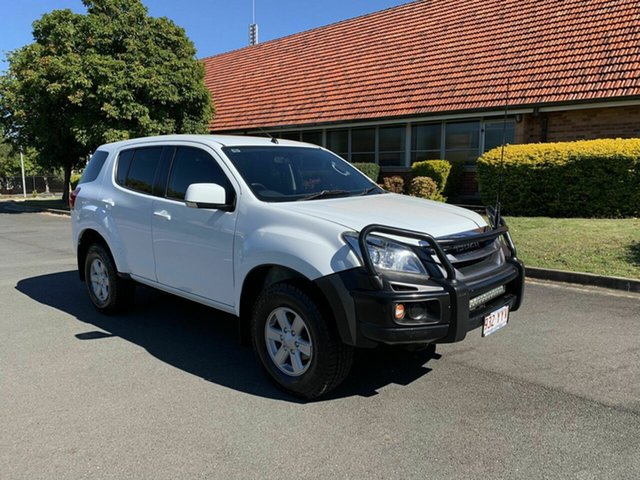 Used Isuzu MU-X MY15 LS-M, 2014 Isuzu MU-X MY15 LS-M White 5 Speed Automatic Wagon