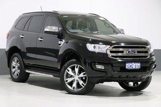 2018 Ford Everest UA MY18 Titanium (4WD) (5 Yr) Black 6 Speed Automatic Wagon.