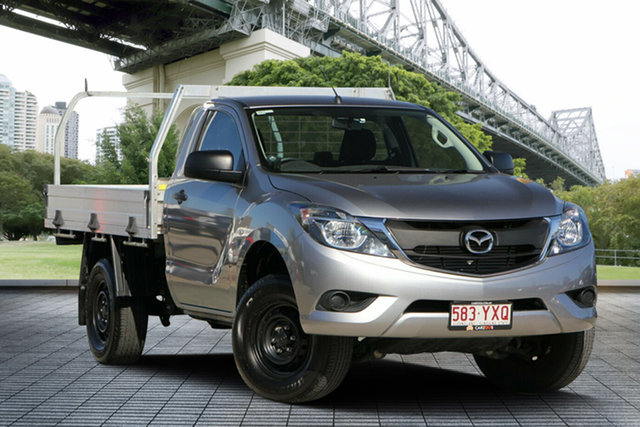 Used Mazda BT-50 UR0YE1 XT 4x2, 2018 Mazda BT-50 UR0YE1 XT 4x2 Silver 6 Speed Manual Cab Chassis