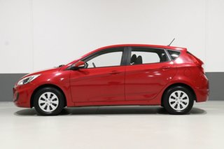 2017 Hyundai Accent RB4 MY17 Active Red 6 Speed Manual Hatchback