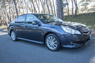 2010 Subaru Liberty B5 MY10 2.5i Lineartronic AWD Premium Grey 6 Speed Constant Variable Sedan