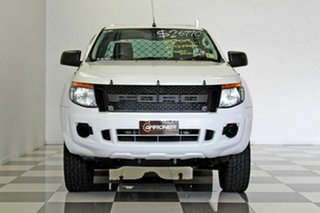 2014 Ford Ranger PX XL 2.2 Hi-Rider (4x2) White 6 Speed Automatic Super Cab Chassis
