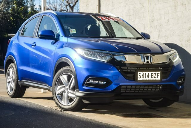 Demo Honda HR-V MY19 VTi-S, 2019 Honda HR-V MY19 VTi-S Brilliant Sporty Blue 1 Speed Constant Variable Hatchback