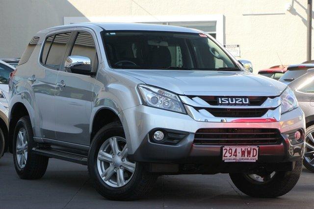 Used Isuzu MU-X MY15.5 LS-U Rev-Tronic 4x2, 2016 Isuzu MU-X MY15.5 LS-U Rev-Tronic 4x2 Silver 5 Speed Sports Automatic Wagon