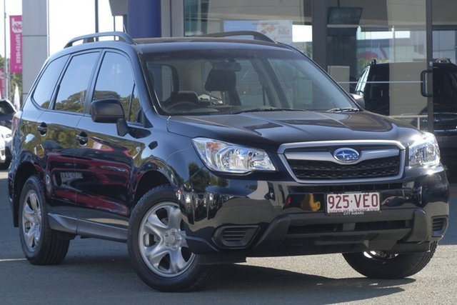 Used Subaru Forester S4 MY14 2.5i Lineartronic AWD, 2014 Subaru Forester S4 MY14 2.5i Lineartronic AWD Black 6 Speed Constant Variable Wagon