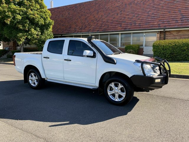 Used Isuzu D-MAX MY14 SX, 2014 Isuzu D-MAX MY14 SX White 5 Speed Manual Wagon