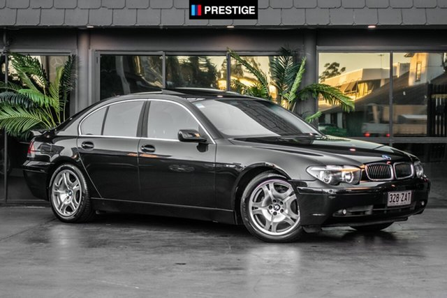 Used BMW 735i E65 Steptronic, 2002 BMW 735i E65 Steptronic Black 6 Speed Automatic Sedan