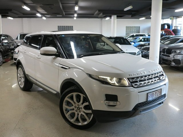 Used Land Rover Range Rover Evoque L538 MY13 SD4 Prestige, 2013 Land Rover Range Rover Evoque L538 MY13 SD4 Prestige White 6 Speed Manual Wagon