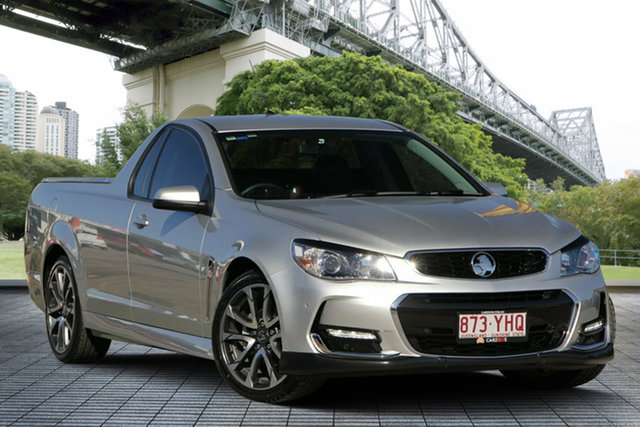 Used Holden Ute VF II MY16 SV6 Ute, 2016 Holden Ute VF II MY16 SV6 Ute Silver 6 Speed Sports Automatic Utility