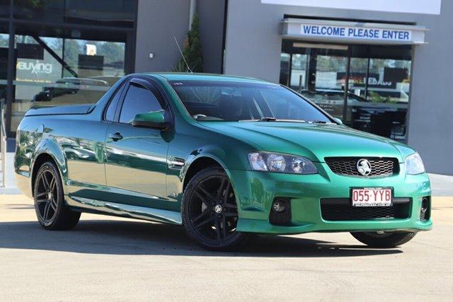Used Holden Ute VE II SV6, 2011 Holden Ute VE II SV6 Green 6 Speed Manual Utility